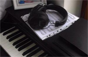 casque audio piano numérique