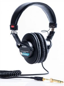 casque audio sony mdr-7506