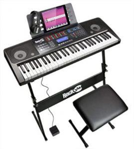 piano numérique portable rockjam 61